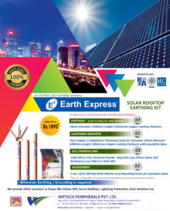 Solar Rooftop Earthing Kit Eng